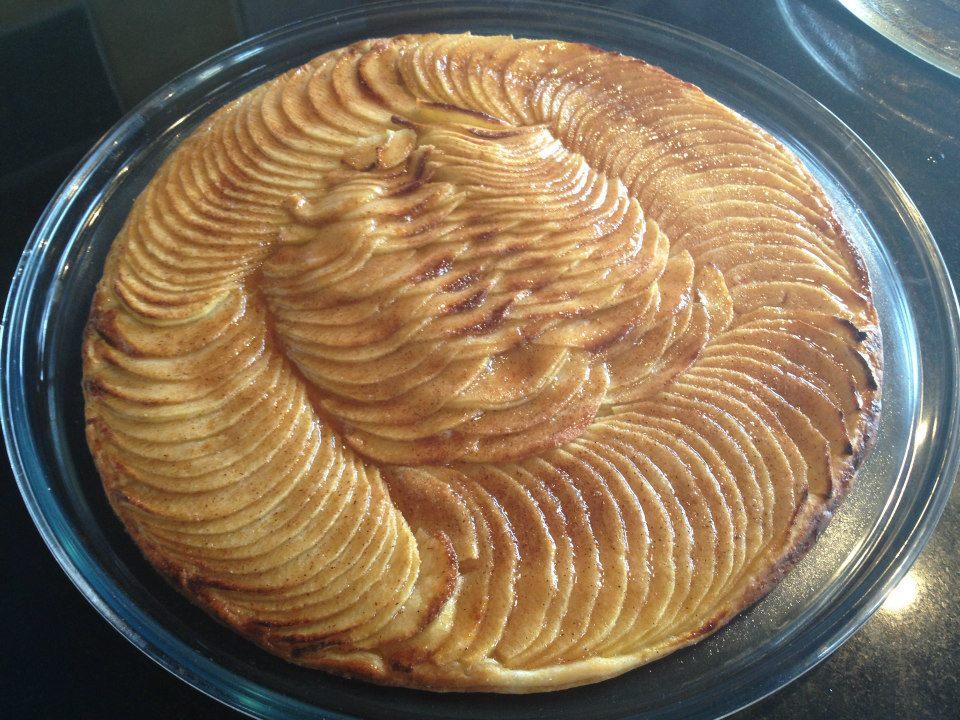 tarte aux pommes pour elise la cuisine de dominique tallon